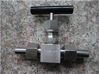 J21W-160P帶條鋼手柄的外螺紋針型閥,不銹鋼針形閥,針式儀表截止閥,氣源針閥 J21W-160P