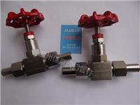 精品打造304,316不銹鋼J21W-40P,J21W-40R,PN40,DN10外螺紋針型壓力儀表截止閥,對焊接式針形閥 J21W-40P,DN10