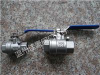 精品力薦304不銹鋼Q11F-25P,DN15,1000WOG內螺紋絲扣4分牙輕型中型重型二片式球閥 Q11F-25P,DN15