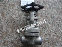 打造溫州佳豪牌Z61W/Y-16P/25P/32P/40P/64P/160P/320P不銹鋼承插焊閘閥 Z61Y-64P
