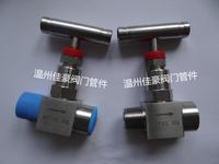 精品J13H/W-16/25/32/40/64/160/320C/P不銹鋼內外絲螺紋壓力儀表針型截止閥門