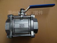精品Q11F-16/1000WOG 304 316不銹鋼內絲螺紋一片式/二片式/三片式球閥 Q11F-16P Q11F-25P Q11F-1000WOG