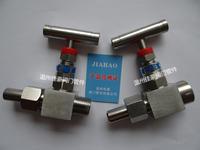 J13W-160P J21W-160P J23W-160P 304SS不銹鋼一字手柄外螺紋截止針型閥門 DN10 M20*1.5