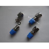 1/4NPT-FT?8 304SS不銹鋼壓環式直通終端接頭
