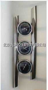 不銹鋼戶外三合一氣象站(溫度計/溫度計/氣壓計) JZ-THB91872