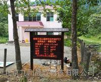 九州晟欣公園負氧離子監測系統 JZ-SDF