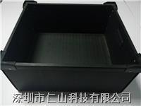 中空板箱,防静电中空板箱配刀卡 供应防静电中空板箱、中空板箱尺寸、黑色中空板箱