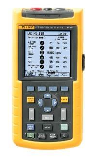 FLUKE手持式示波器F125總線運行狀況模式可以測量工業總線和網絡 F125