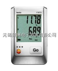 testo 176 T2 - 溫度記錄儀,理想適用于長期測量:可存儲多達兩百萬組測量數據,電池壽命長達8年 Pt100溫度探頭確保高精度溫度測量:可連接2個外 testo 176 T2