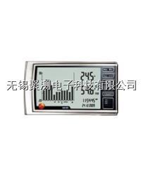 testo 623 - 數字式溫濕度記錄儀,測量室內環境溫度和相對濕度并在超限時發出報警 超大超清晰顯示屏:顯示當前測量數據并提供90天數據柱狀圖 testo 623