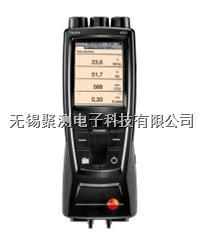 testo 480 - 多功能測量儀,可選配各種高品質的探頭以測量風速,溫度,濕度,壓力,紊流度,熱輻射,CO2,光照度,PMV/PPD以及WBGT指數 內置 testo 480