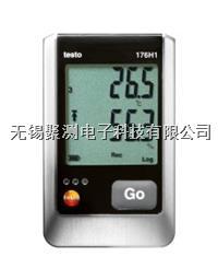 testo 176 H1 - 溫濕度記錄儀,連續測量并記錄溫度,相對濕度以及露點 可連接2個外置溫濕度探頭,實現同時4通道溫濕度監測 testo 176 H1