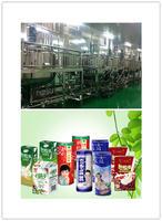 中小型植物蛋白飲料生產線