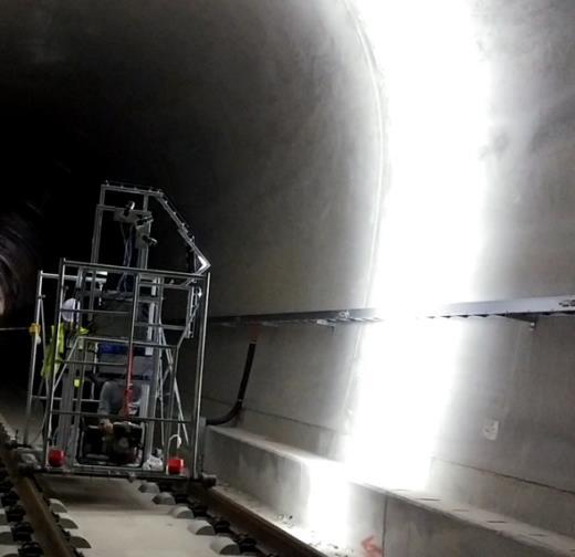 隧道裂缝快速测量系统