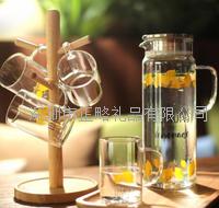 柠檬耐热玻璃水具五件套 GR467-B