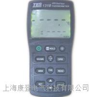 双通道白金电阻温度表 TES-1318