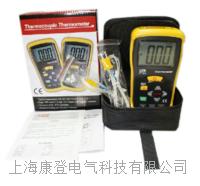 接触式测温仪数字双通道K型温度表 DT-612