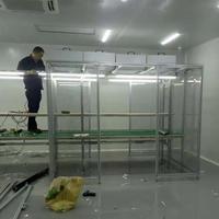 深圳潔淨棚廠家現場安裝圖片視頻