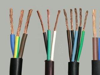 供应新型多芯控制护套线 铜芯阻燃型聚氯乙烯绝缘