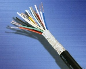 长期供应屏蔽控制信号电缆 铜芯阻燃型聚氯乙烯绝缘