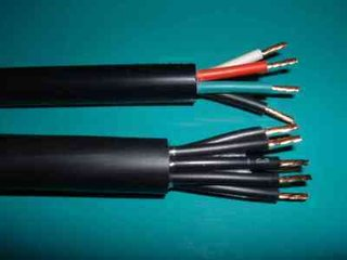 生产销售防水防冻护套电源控制线缆 RVVP软心护套电缆