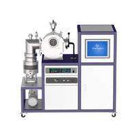 不銹鋼水冷腔體35KW真空感應熔煉爐