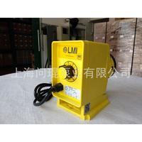 米顿罗LMI P146--358TI电磁隔膜计量加药泵 工程塑料PVC污水泵