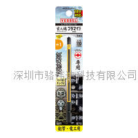 日本VESSEL威威 分段式十一字螺絲專用批頭No.PS161110(PS1×φ4×φ4.5×110)