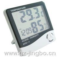 室內電子溫濕度計|大屏幕溫濕度表|帶時間溫濕度計