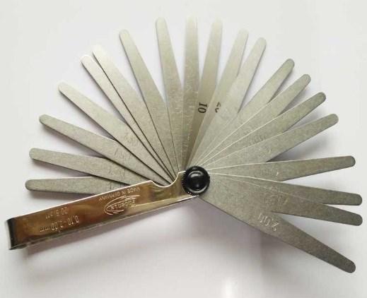 現貨德國Phoenix鳳凰厚薄規25410015厚薄片0.03-1.0mm共32片塞尺