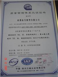 ISO 9001-2000質量管理體系