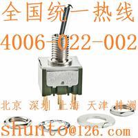 上海现货NKK开关M-2022P4六脚钮子开关接线图日开Nikkai进口钮子开关日本Switches M-2022P4