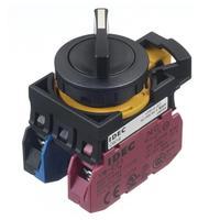 Idec和泉自动复位旋钮选择开关 CW1S-21E10