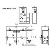 强力KANETEC牌ES-VB305A電磁チャックカネテック (KANETEC) エアーアップ用制御装置 ES-VB305A