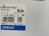 OMRON数字表 K3HB-HTA-BCD1 100-240V