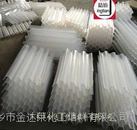塑料蜂窝斜管填料 乙丙共聚六角蜂窝斜管 聚丙烯六角斜管填料
