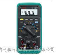 日本KAISE凯世KU-2600多功能数字万用表汽车/摩托车 万用表 KU-2600多功能数字万用表