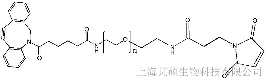 二苯并环辛烯PEG马来酰亚胺,DBCO-PEG-MAL