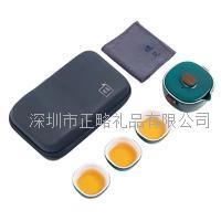 旅行茶具-檀木盖钮